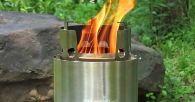 using the Solo Stove for camping